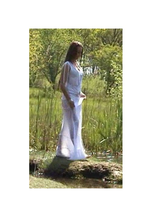 W810-Sylwia white dress (movie)